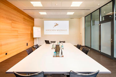 meeting room at Hotel Hirschen Wildhaus