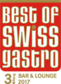 Best of Swiss Gastro for the bar at Hotel Hirschen Wildhaus